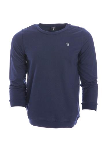 Sportive Sweatshirt Lacivert